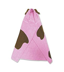 Trend Lab Character Towel - Pink Puppy