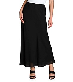 MSK® Georgette A-line Long Skirt