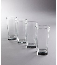 LivingQuarters Specialty Drinkware Set of 4 Ice Cube Coolers
