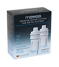 Mavea® Universal Fit Water Filter Replacement Cartridge-2 pack
