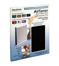 AirTamer® High Efficiency Germ-Odor-Virus Protection Air Filter - 2 pack