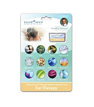 Sound Oasis® Ear Therapy Sound Card