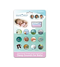 Sound Oasis® Sleep Sounds for Baby Sound Card