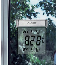 La Crosse Technology® WS-1025 Window Thermometer