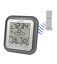 La Crosse Technology® WS-9133U-IT Wireless Weather Forecaster - Titanium