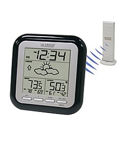 La Crosse Technology® WS-9133U-IT Wireless Weather Forecaster - Black
