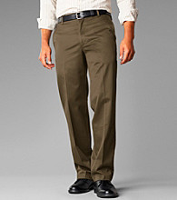 Dockers® Men's Straight Fit Flat Front Signature Khaki