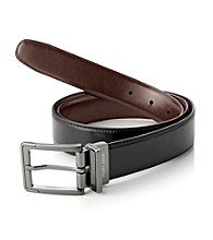 Perry Ellis Portfolio® Men's Reversible Belt - Black/Brown