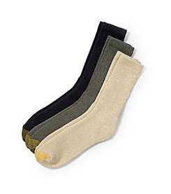 GOLD TOE® Men's Uptown 3-Pack Socks - Dark Multi