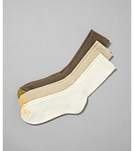 GOLD TOE® Men's Uptown 3-Pack Socks - Light Multi