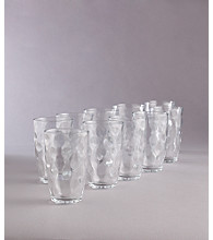 LivingQuarters Metro Eclipse 10-pc. Drinkware Set