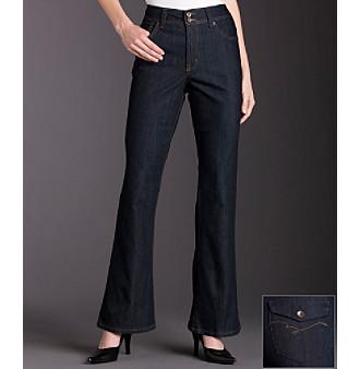 Bandolino Arianna Bootcut Jeans - Rinse Wash