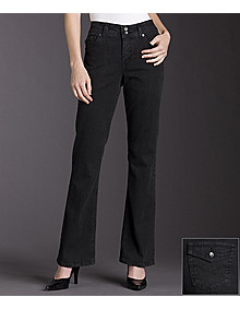 Bandolino Blu Arianna black wash jeans