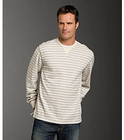 Izod® Men's Flatback Long Sleeve Crew