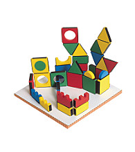 Edushape Magic Shapes - Set of 54 with Board
