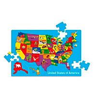 Edushape® USA Map Puzzle - 54 pieces