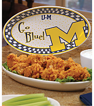 Memory Company Gameday Platters-University of Michigan