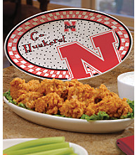 Memory Company Gameday Platters-University of Nebraska