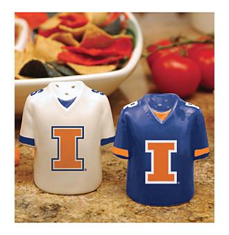 Memory Company Gameday Salt & Pepper Shakers-University of Illinois
