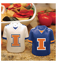 Memory Company Gameday Salt & Pepper Shakers-University of Illinois