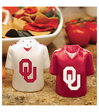 Memory Company Gameday Salt & Pepper Shakers-Oklahoma University