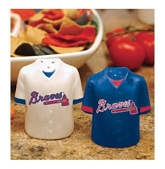 Memory Company Gameday Salt & Pepper Shakers-Atlanta Braves