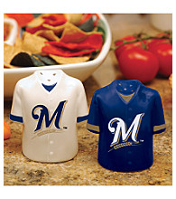 Memory Company Gameday Salt & Pepper Shakers-Milwaukee Brewers