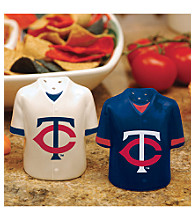 Memory Company Gameday Salt & Pepper Shakers-Minnesota Twins