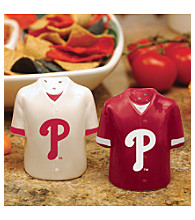 Memory Company Gameday Salt & Pepper Shakers-Philadelphia Phillies