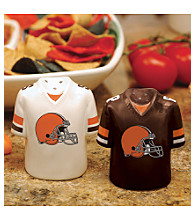 Memory Company Gameday Salt & Pepper Shakers-Cleveland Browns