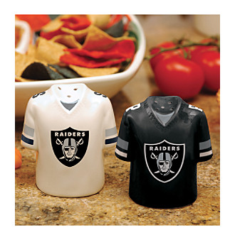Memory Company Gameday Salt & Pepper Shakers-Oakland Raiders