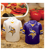 Memory Company Gameday Salt & Pepper Shakers-Minnesota Vikings