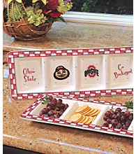 Memory Company Gameday Relish Tray-Ohio State