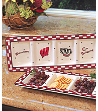 Memory Company Gameday Relish Tray-University of Wisconsin
