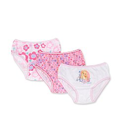 Mattel® Girls' 4-8 Barbie™ 3-Pack Panties - Multi