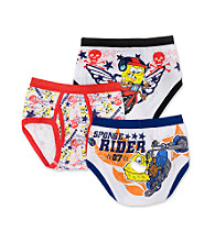 Nickelodeon® Boys' 4-8 SpongeBob 3-Pack Briefs - Multi