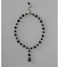 Social Occasion Y-Necklace - Jet