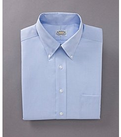 Eagle® Men's Regular Fit No-Iron Pinpoint Dress Shirt