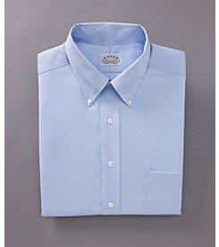 Eagle® Men's Regular Fit No-Iron Pinpoint Dress Shirt