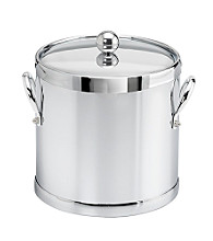 Kraftware™ Polished Chrome 3-Quart Ice Bucket with Metal Handles