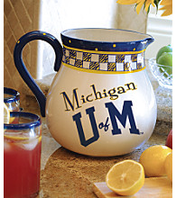 Memory Company Gameday Pitcher - University of Michigan