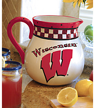 Memory Company Gameday Pitcher - University of Wisconsin