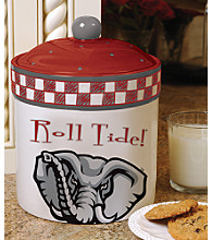 Memory Company Gameday Cookie Jar - University of Alabama