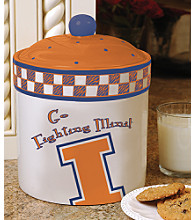 Memory Company Gameday Cookie Jar - University of Illinois