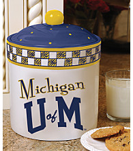 Memory Company Gameday Cookie Jar - University of Michigan