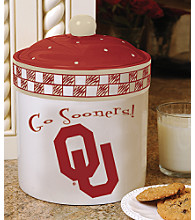 Memory Company Gameday Cookie Jar - University of Oklahoma