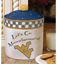 Memory Company Gameday Cookie Jar - University of West Virginia