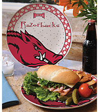 Memory Company Gameday Ceramic Plate - University of Arkansas
