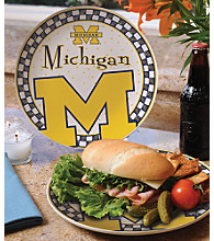 Memory Company Gameday Ceramic Plate - University of Michigan