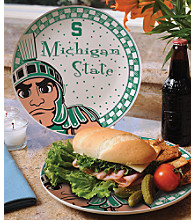 Memory Company Gameday Ceramic Plate - Michigan State University